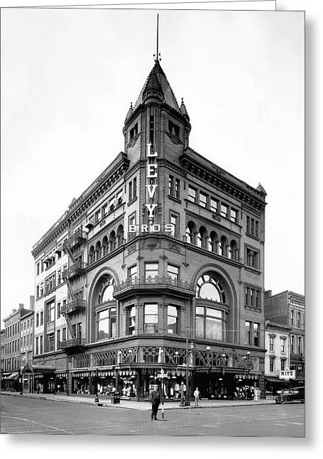 Louisville Department Store Greeting Card by Underwood Archives