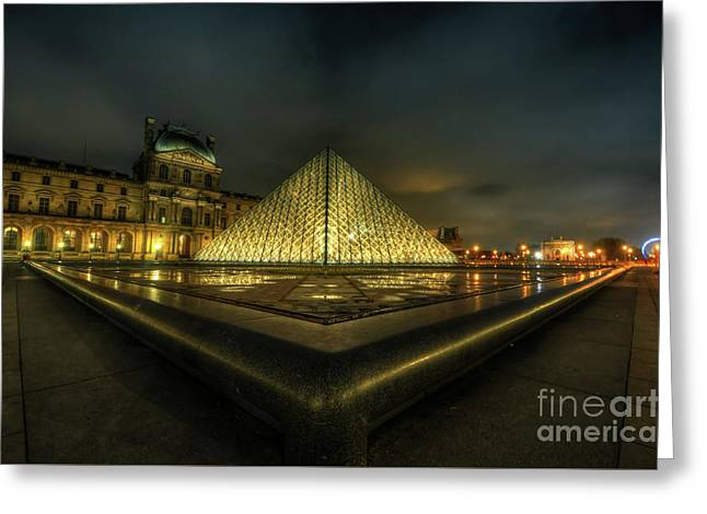 Louvre 1.0 Greeting Card