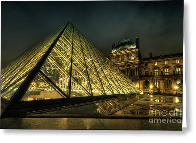 Louvre 2.0 Greeting Card