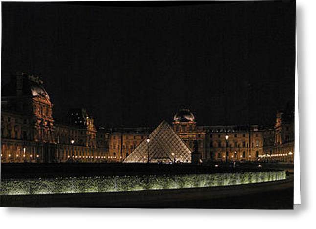 Louvre Greeting Card by Gary Lobdell
