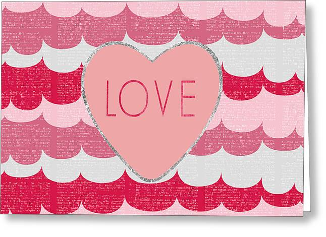 Love 2 Greeting Card by Sabine Jacobs