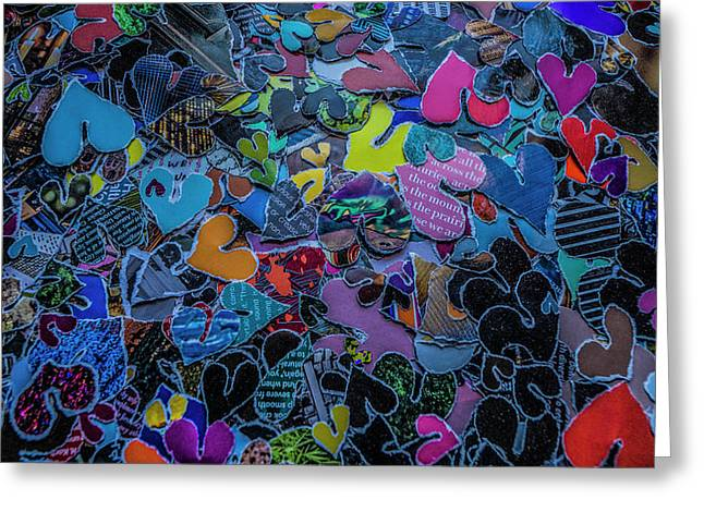 Love 4 Series 1 Greeting Card by Kenneth James