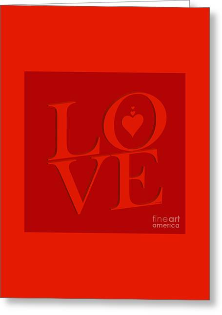 Yes Valentine Love M23 Greeting Card