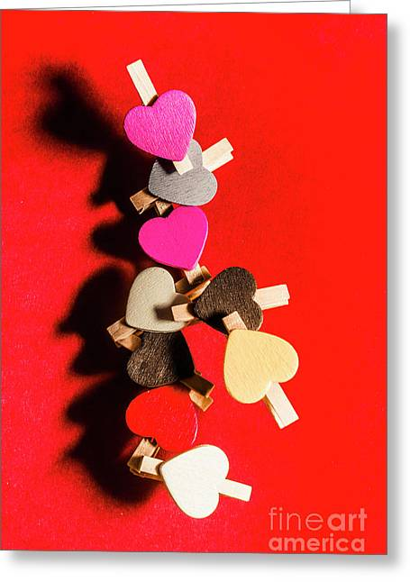 Love And Connection Greeting Card