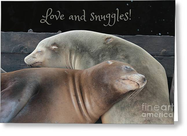 Love And Snuggles Greeting Card