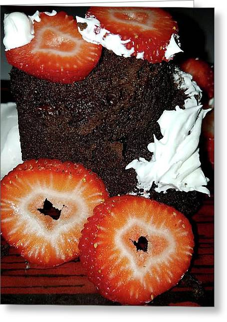 Greeting Card featuring the photograph Love Berry Much by Kelly Reber