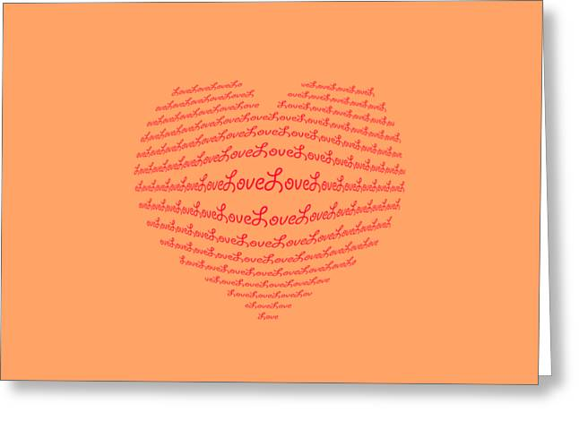 Love Boom Greeting Card by Scott Carruthers