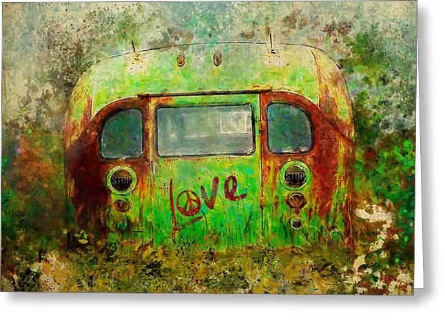 Love Bus Greeting Card
