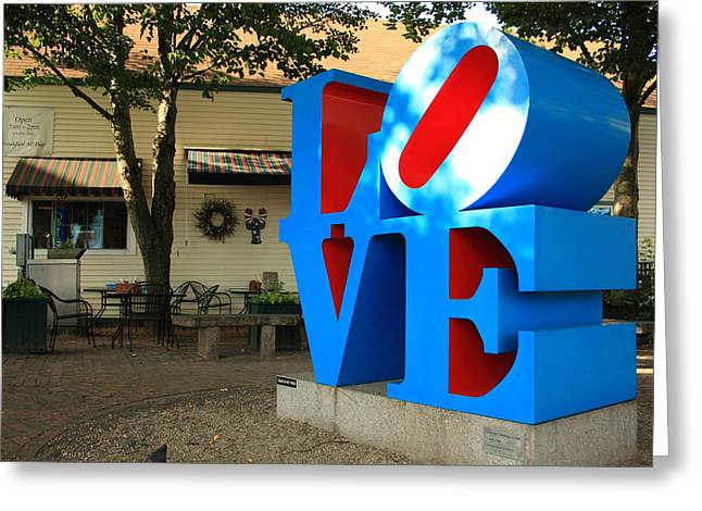 Love Cafe Greeting Card by Doug Mills