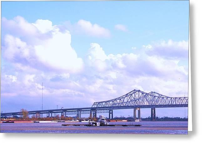 Love Can Build A Bridge Greeting Card by Gracey Tran