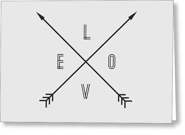 Love Compass Greeting Card