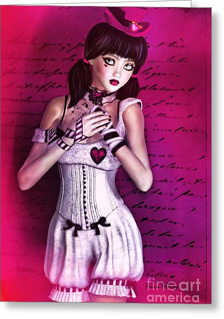 Love Doll Greeting Card