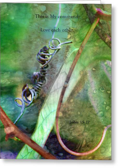 Love Each Other Greeting Card