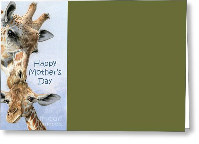 Love From Above- Happy Mother's Day Cards Greeting Card by Sarah Batalka