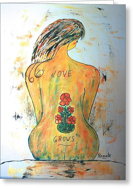 Love Grows.... Greeting Card
