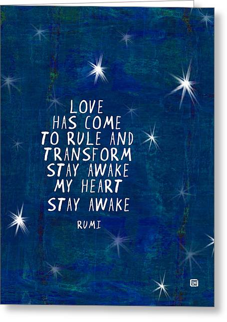 Love Has Come Greeting Card by Lisa Weedn