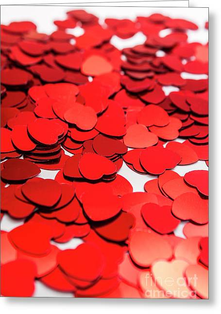 Love In Perspective Greeting Card