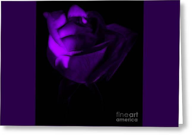 Love In The Dark Greeting Card by Krissy Katsimbras