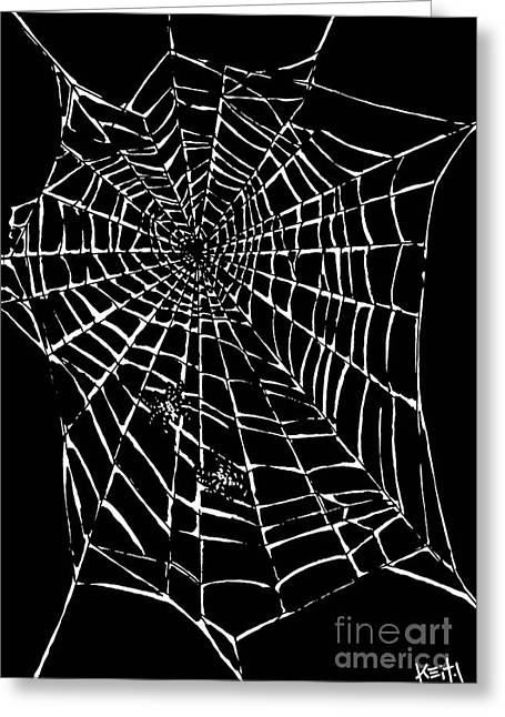 Love Is A Tangled Web Greeting Card