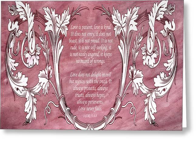 Love Is Kind Greeting Card