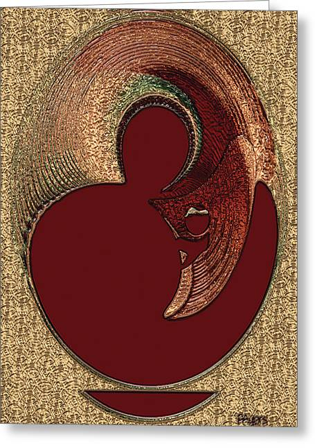 Love Is... Greeting Card by Paula Ayers