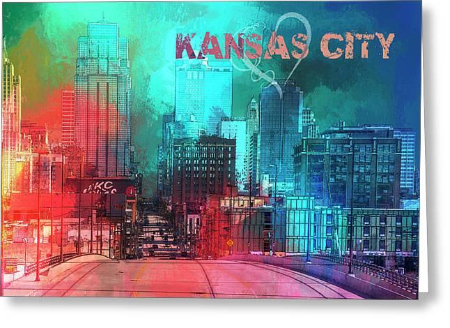 Love Kansas City Greeting Card