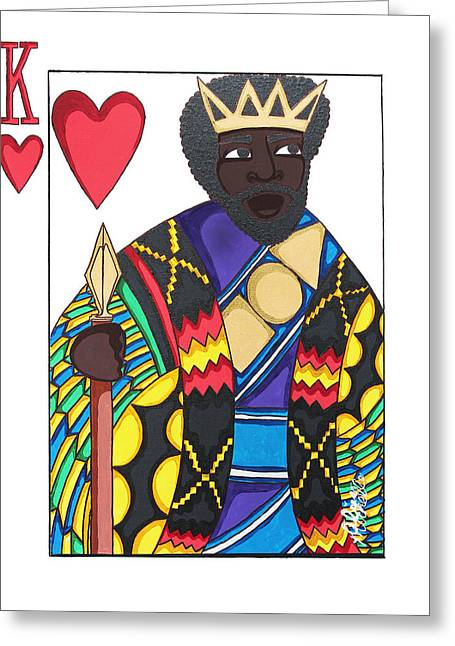 Love King Greeting Card