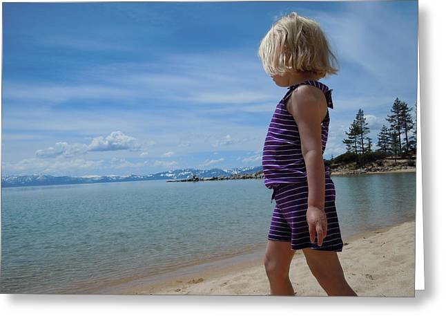 Greeting Card featuring the photograph Love Lake Tahoe by Dan Whittemore