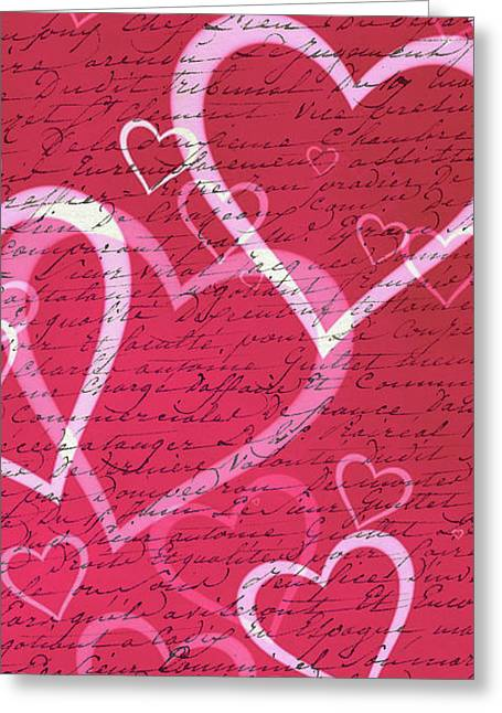 Love Letters Case Greeting Card by Edward Fielding