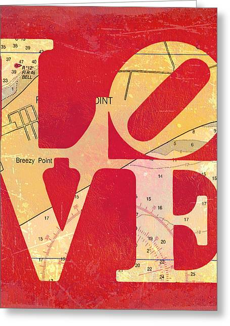 Love Long Island V6 Greeting Card