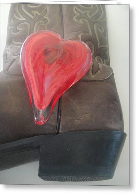 Love My Boots Greeting Card by WaLdEmAr BoRrErO