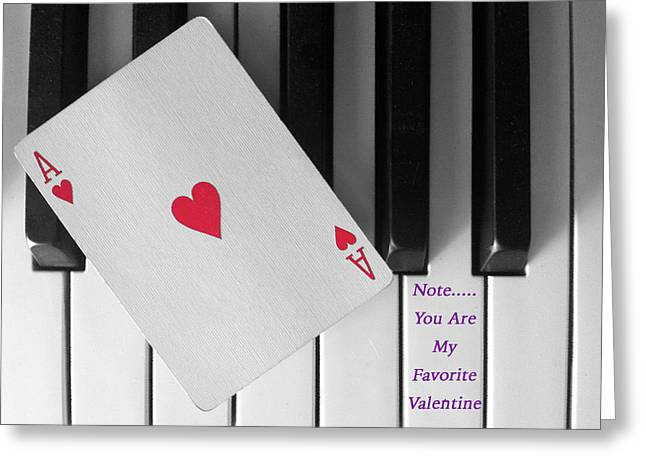 Love Notes Greeting Card by Don Spenner