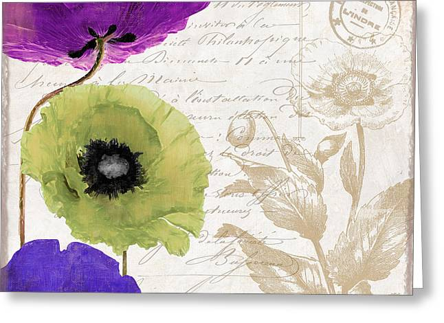 Love Notes II Greeting Card by Mindy Sommers