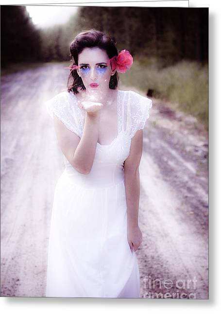 Love Of Magic Kisses Greeting Card by Jorgo Photography - Wall Art Gallery