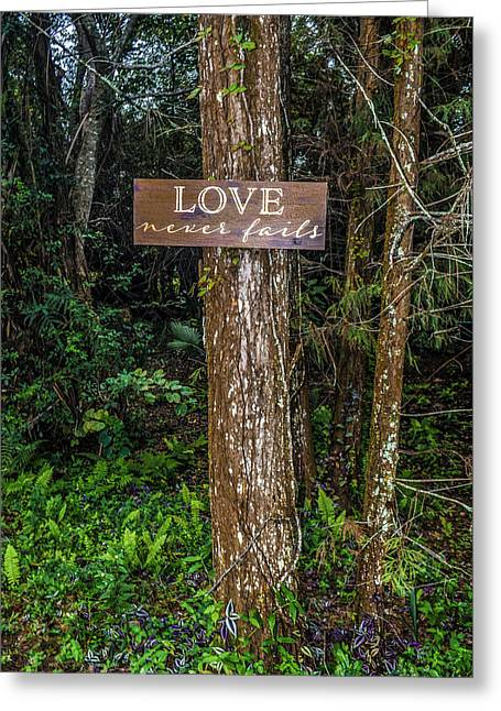 Love On A Tree Greeting Card