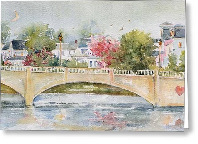 Love Over Asbury Greeting Card