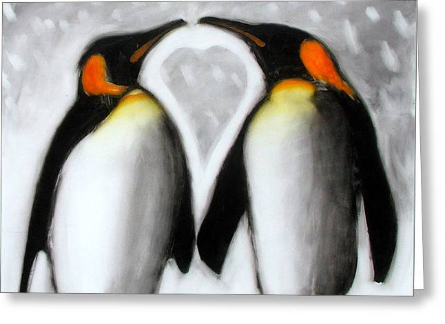 Love Greeting Card by Paul Powis