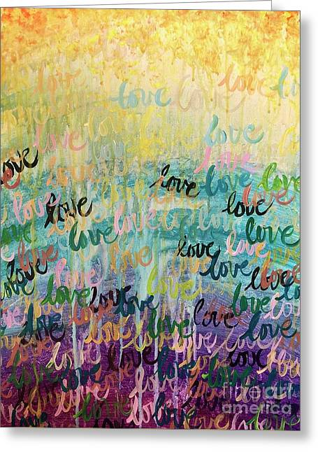 Love Reigns Greeting Card