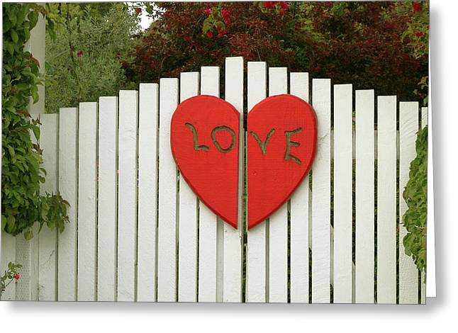 Love Says It All Greeting Card
