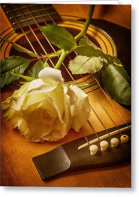 Love Song In The Making Greeting Card by Swank Photography