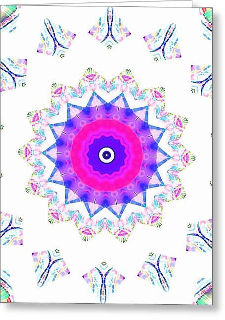 Love Star Greeting Card by Ritchard Mifsud