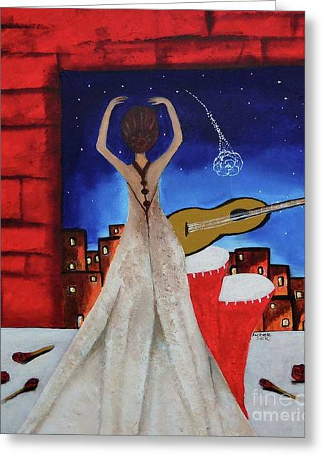 Love To Dance 002 By Saribelle Rodriguez Greeting Card