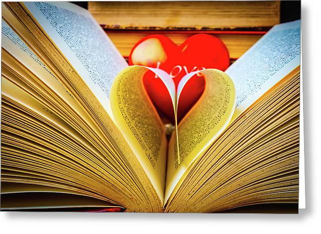 Love To Read Books Greeting Card