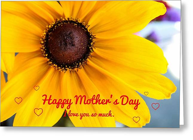 Love You Mama Greeting Card