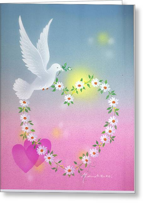 All My Love For You Greeting Card by Laura Greco