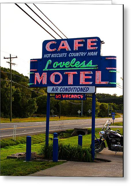 Loveless Cafe Sign Greeting Card