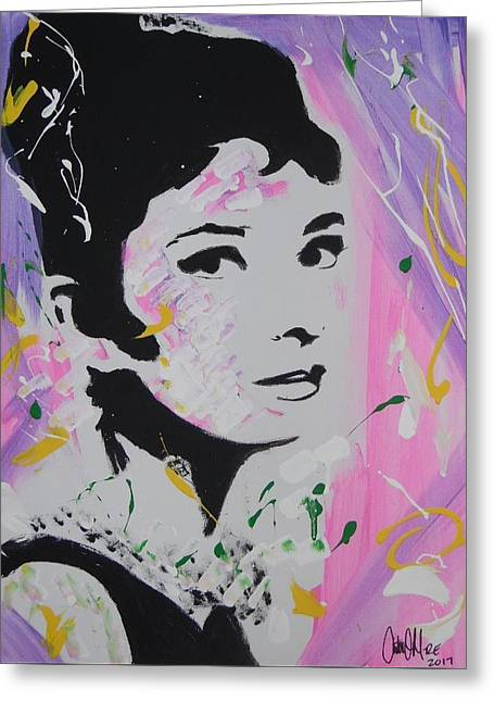 Lovely Audrey Greeting Card