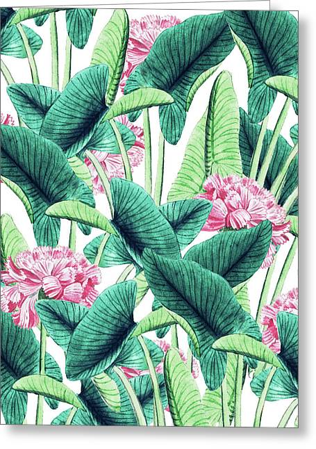 Lovely Botanical Greeting Card