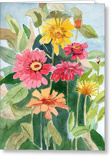 Lovely Flowers Greeting Card