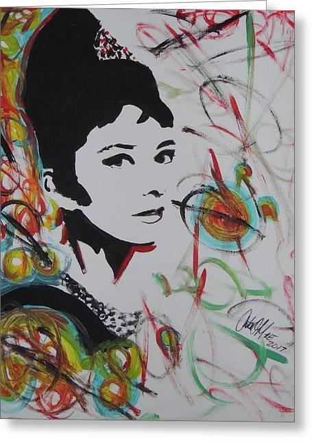 Lovely Hepburn Greeting Card